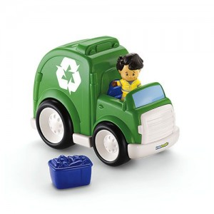Fisher-Price Little People Recycle Truck