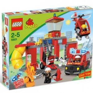 LEGO duplo ville brandweergebouw - 5601
