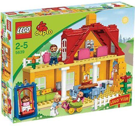 nieuwe afbeeldingen van nieuwe lijst enorme verkoop LEGO Duplo | 5639 - Ville Familiehuis