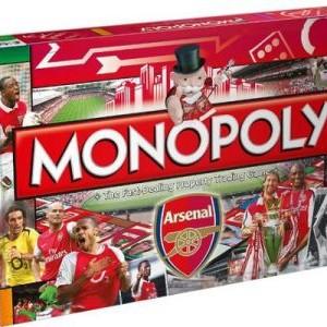 Arsenal FC Monopoly 2013