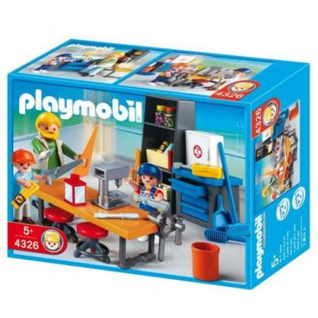 playmobil 4326 praktijklokaal speelgoed liefhebbers. Black Bedroom Furniture Sets. Home Design Ideas