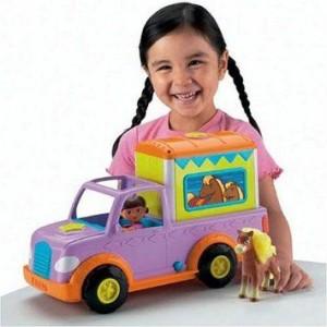 Fisher-Price | Dora's prachtige ponytrailer