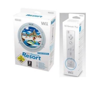 Nintendo Wii Sports Resort + Controller Plus Wit
